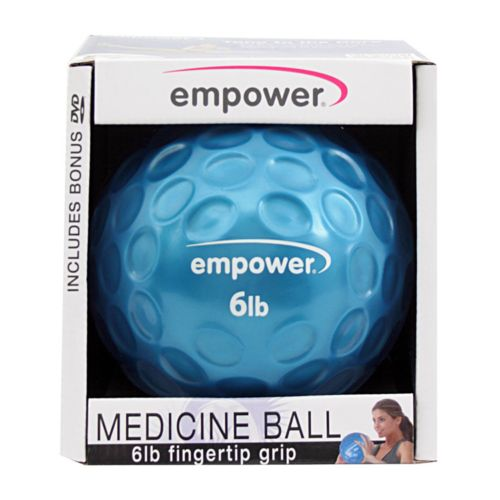 empower 6-lb. Fingertip Grip Medicine Ball