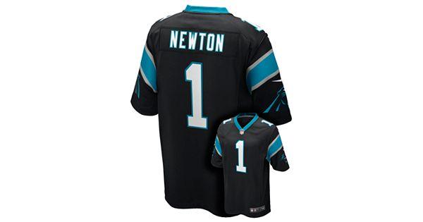 Nike Carolina Panthers Cam Newton Nfl Jersey Boys 8 20