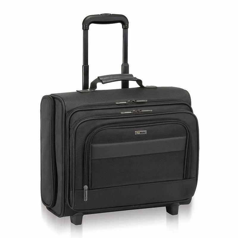 Solo Classic Rolling Nylon Laptop Overnight Bag