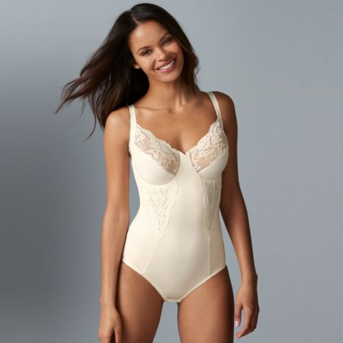 Maidenform Shapewear Lace Body Briefer 1456