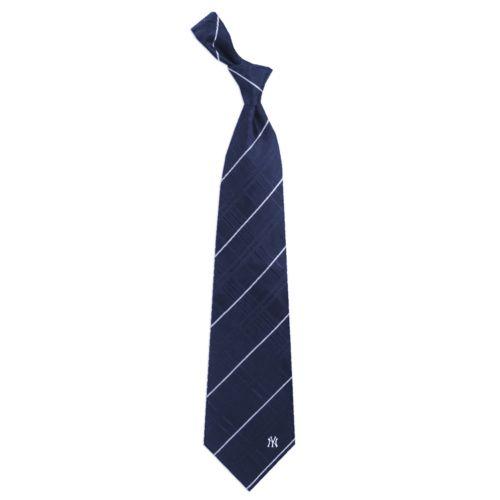 Adult New York Yankees Oxford Silk Tie