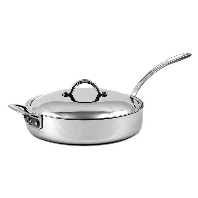 Culinary Institute of America 4-qt. Stainless Steel Covered Sautoir