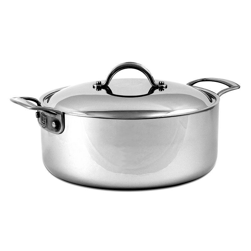 Culinary Institute of America 6-qt. Stainless Steel Covered Rondeau