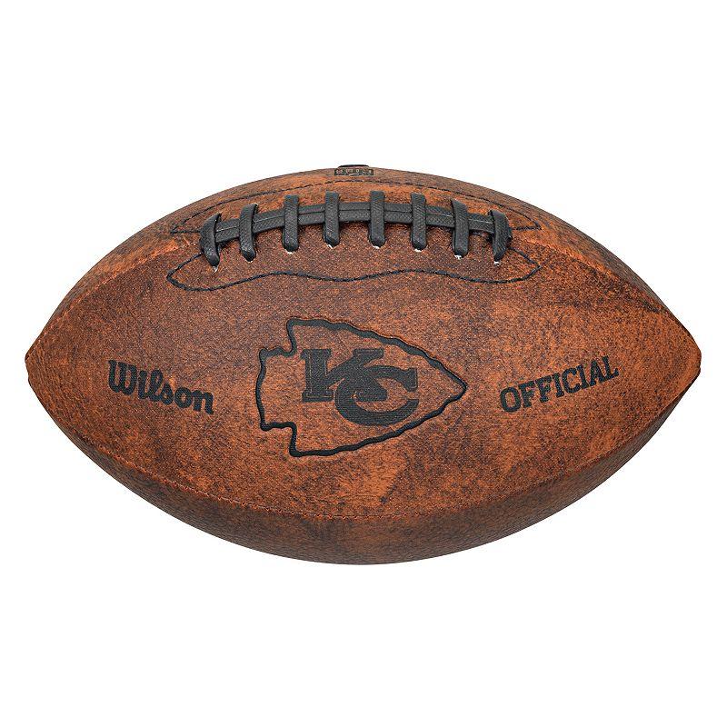 Wilson Kansas City Chiefs Throwback Youth-Sized Football
