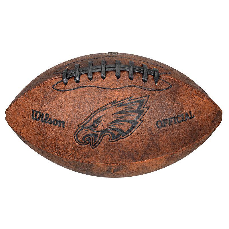 Wilson Philadelphia Eagles Throwback Youth-Sized Football