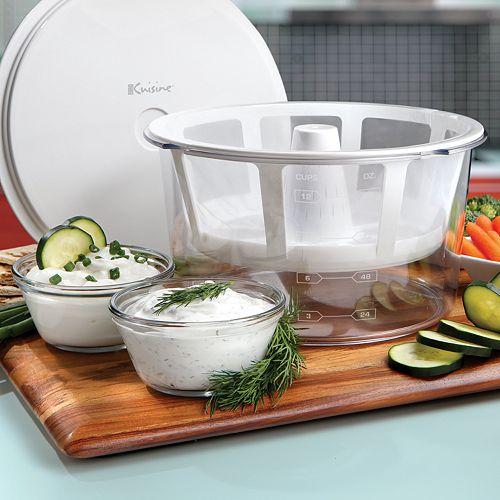 Euro cuisine greek yogurt strainer kit multicolor price for Cuisine 500 euros