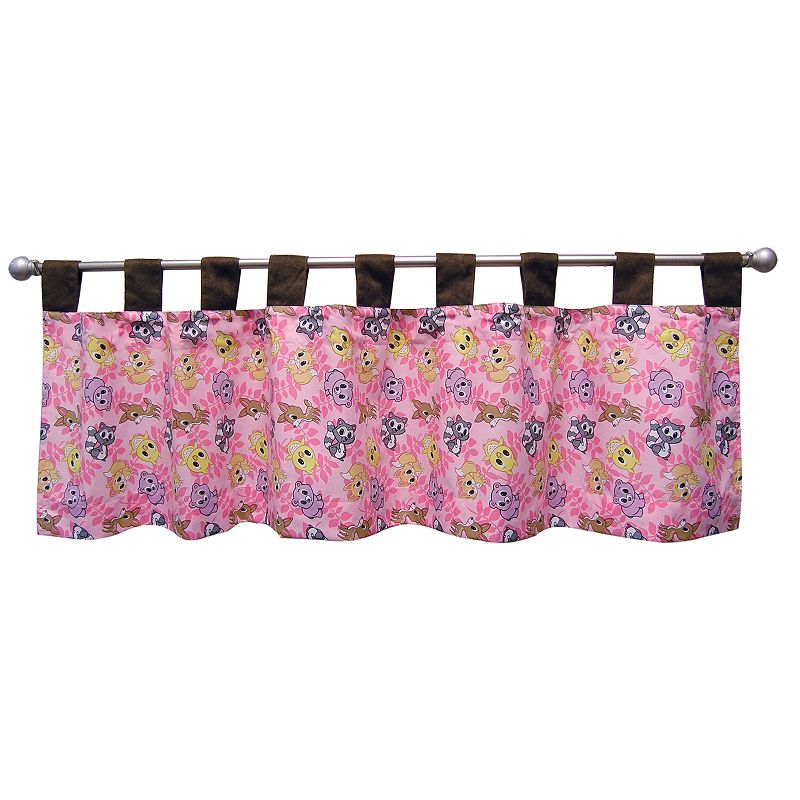 Trend Lab Lola Fox and Friends Valance