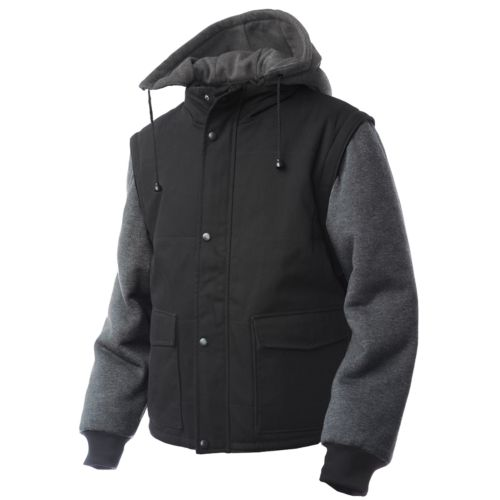 Big & Tall Tough Duck Convertible Hooded Jacket