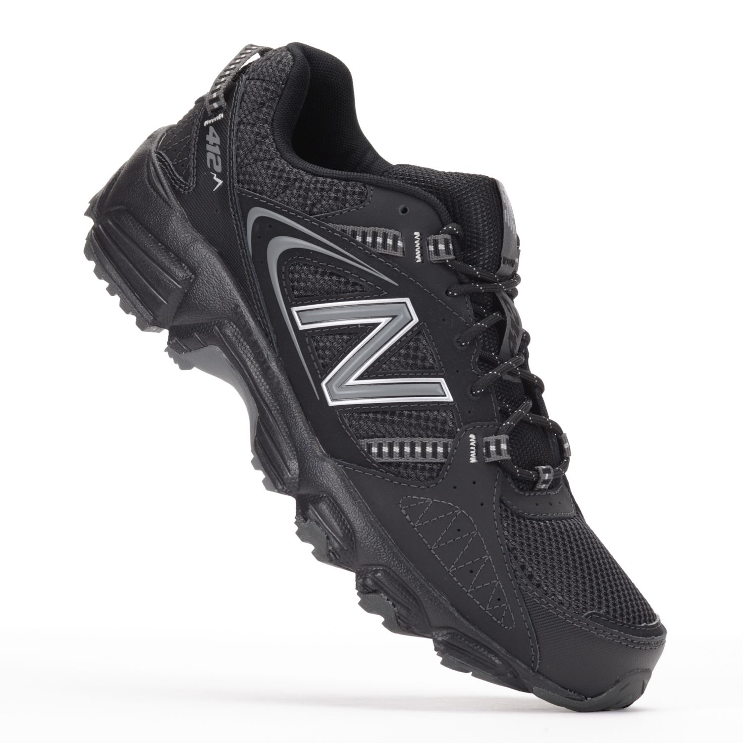 new balance black running shoes