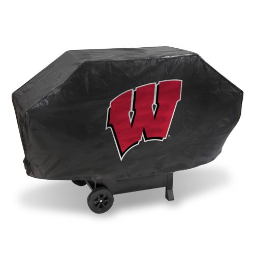 Wisconsin Badgers Vinyl Grill Cover