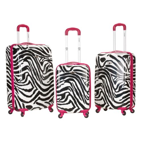 Rockland 3-Piece Hardside Spinner Luggage Set