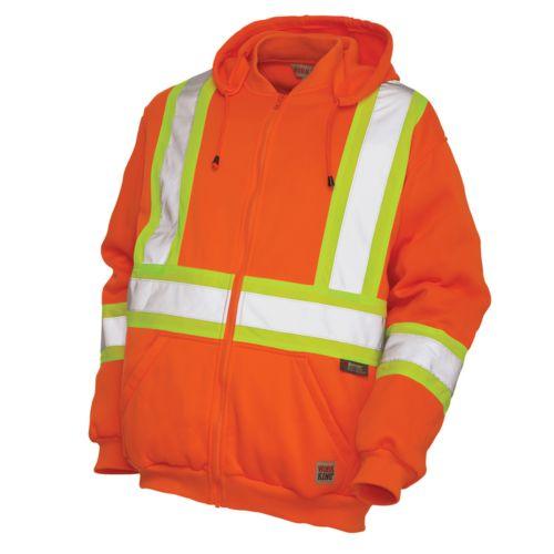 Men's Work King High Visibility Fleece Hoodie - Men