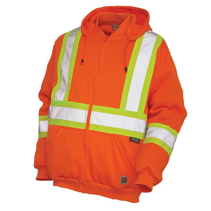 Men's Work King High Visibility Fleece Hoodie