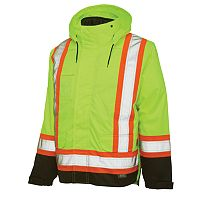 Men's Work King High Visibility 5-In-1 Systems Jacket