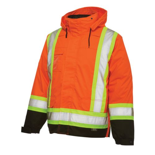 Work King High Visibility 5-In-1 Systems Jacket - Big and Tall