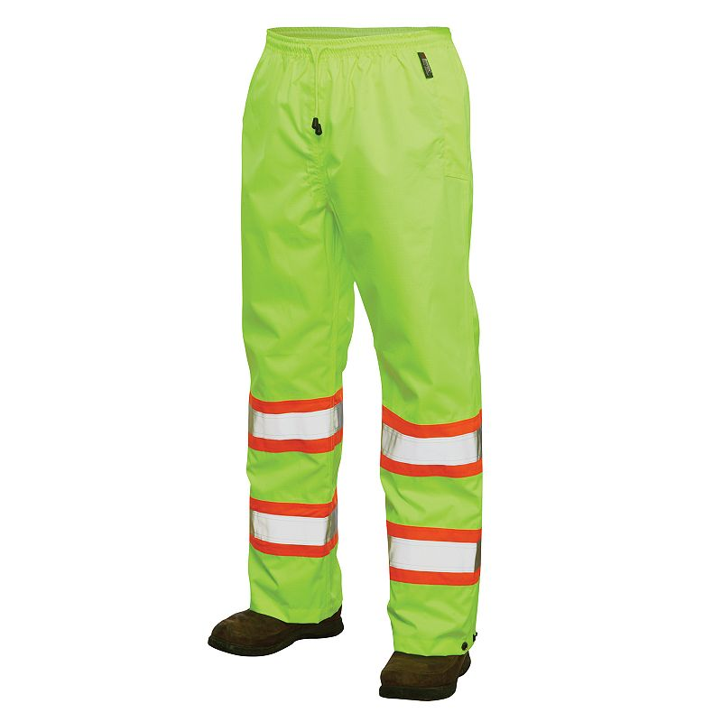 Men's Work King High Visibility Rain Pants