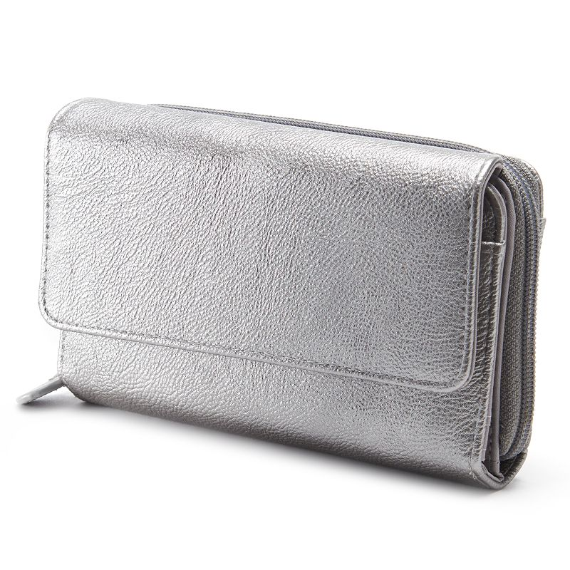 Croft & Barrow® Organizer Clutch Wallet