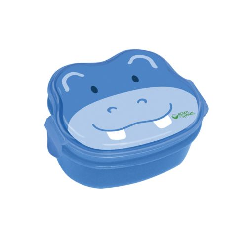 Green Sprouts by i play. Hippo On Safari Bento Lunch Box