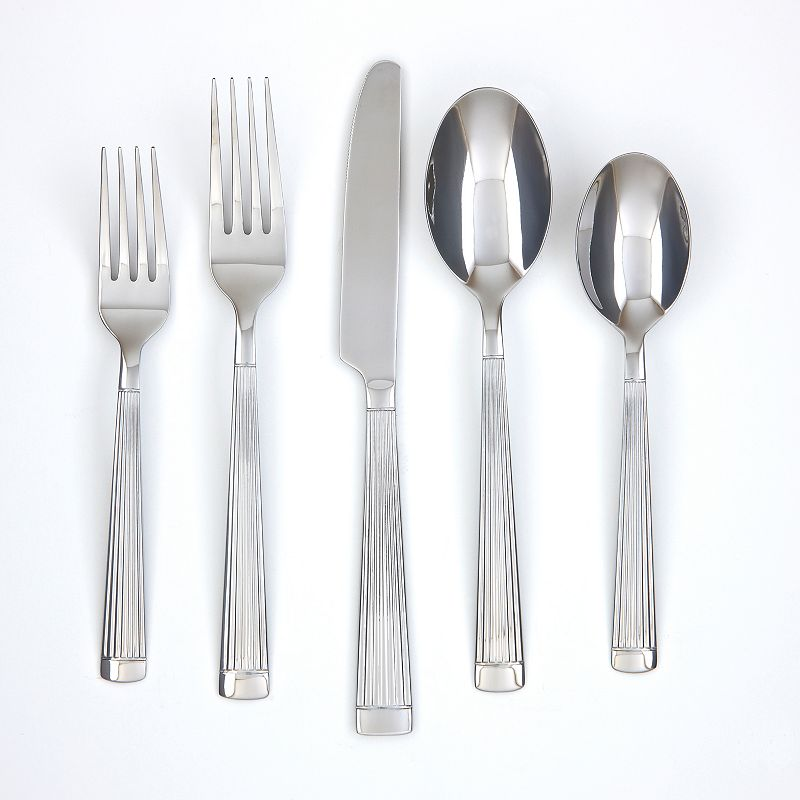 Farberware Chicory Mirror 20-pc. Flatware Set