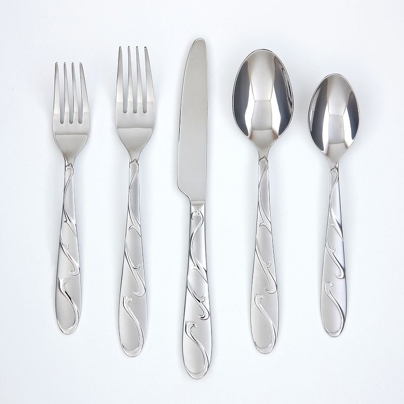 Farberware Chipotle Sand 20-pc. Flatware Set