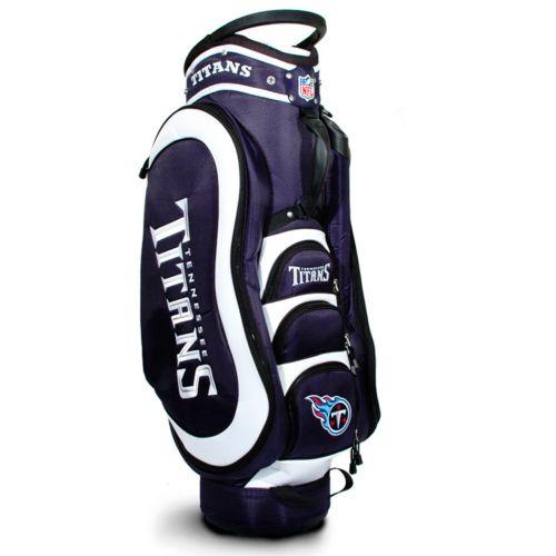 Team Golf Tennessee Titans Medalist Cart Bag