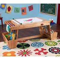 KidKraft Drying Rack & Storage Art Table