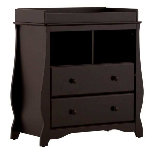 Stork Craft Carrara 2-Drawer Changing Table
