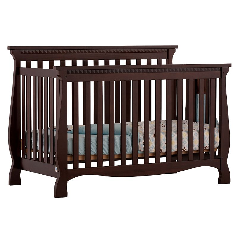 Stork Craft Venetian 4-in-1 Fixed Side Convertible Crib
