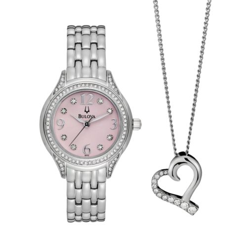 Bulova Watch Set - Women's Stainless Steel - 96X124
