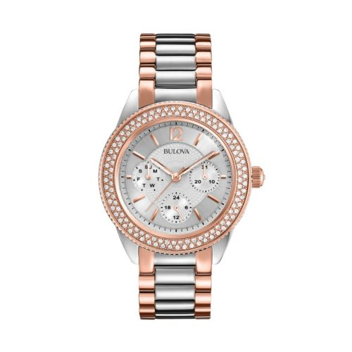 Bulova Watch - Women's Crystal Stainless Steel - 98N100