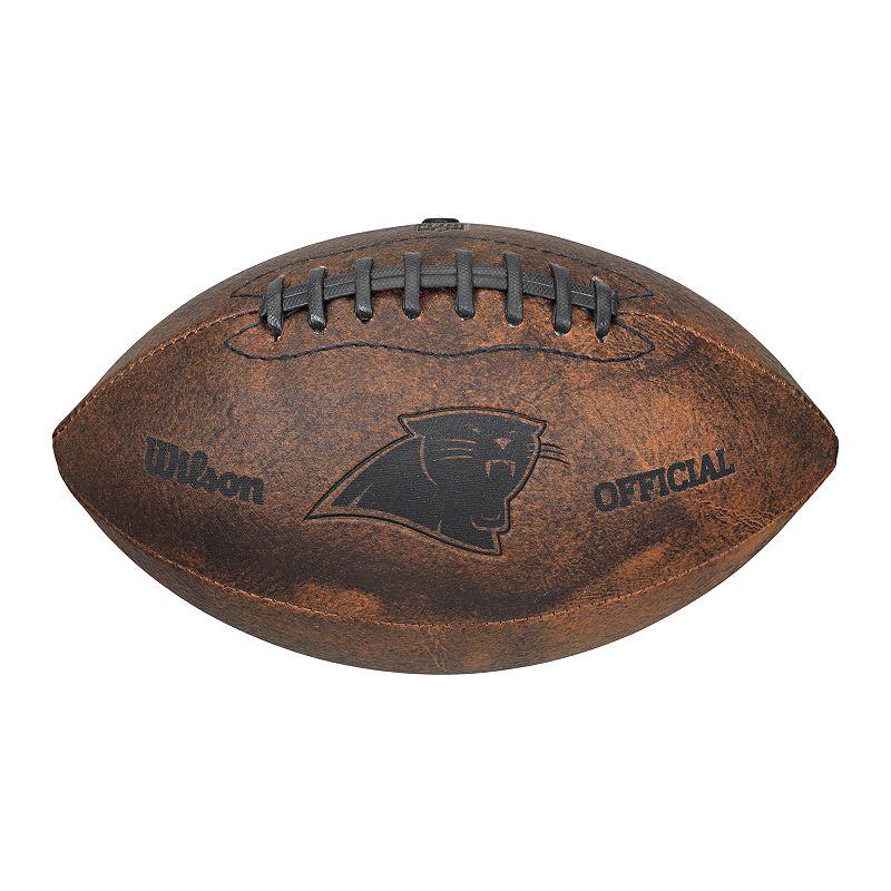 Wilson Carolina Panthers Throwback Youth-Sized Football