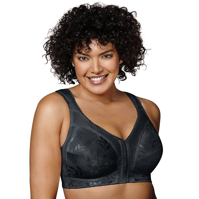Playtex Bra: 18 Hour Front-Closure with Flex Back Wireless Bra 4695 - Women's