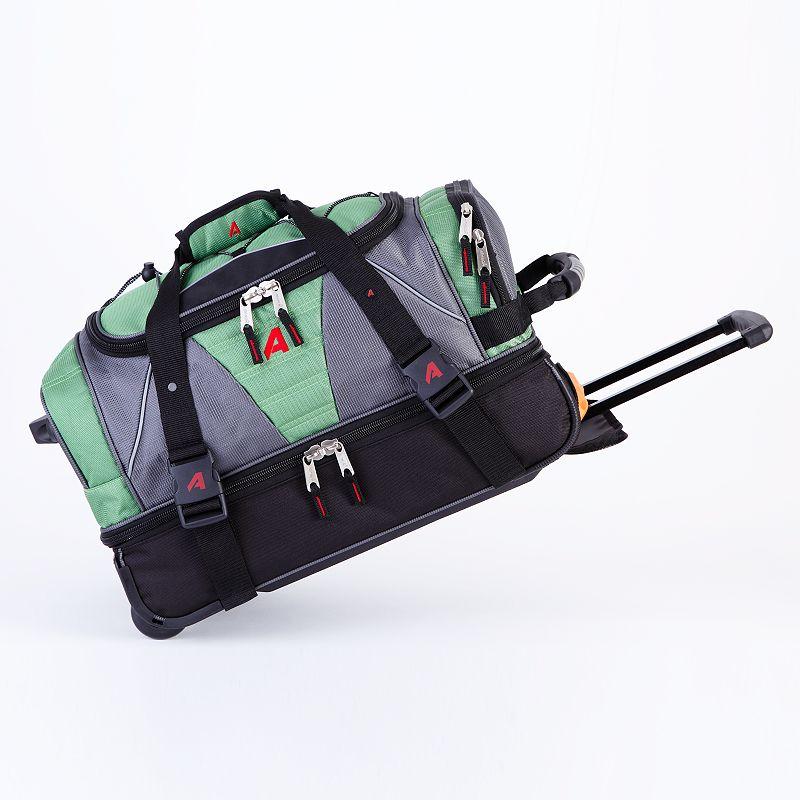 Athalon 21-Inch Drop-Bottom Rolling Duffel Bag
