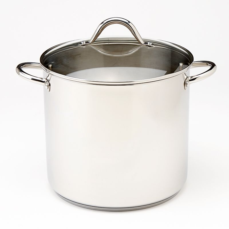 Food Network™ 16-qt. Stainless Steel Covered Stockpot