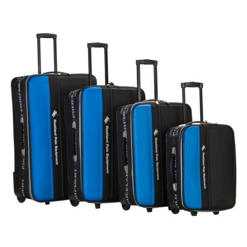 Rockland 4-Piece Polo Equipment Wheeled Luggage Set