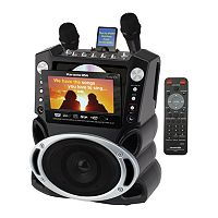 Karaoke USA DVD/CD+G/MP3+G Karaoke System with 7'' TFT Color Screen