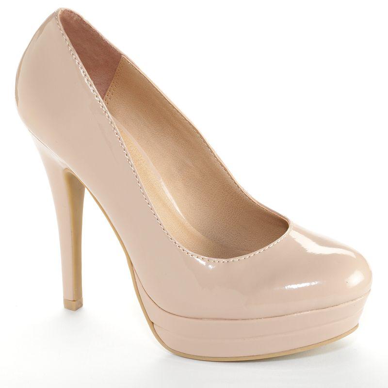 LC Lauren Conrad Women's Platform High Heels