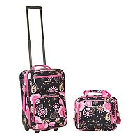 Rockland Print 2-Piece Luggage Set