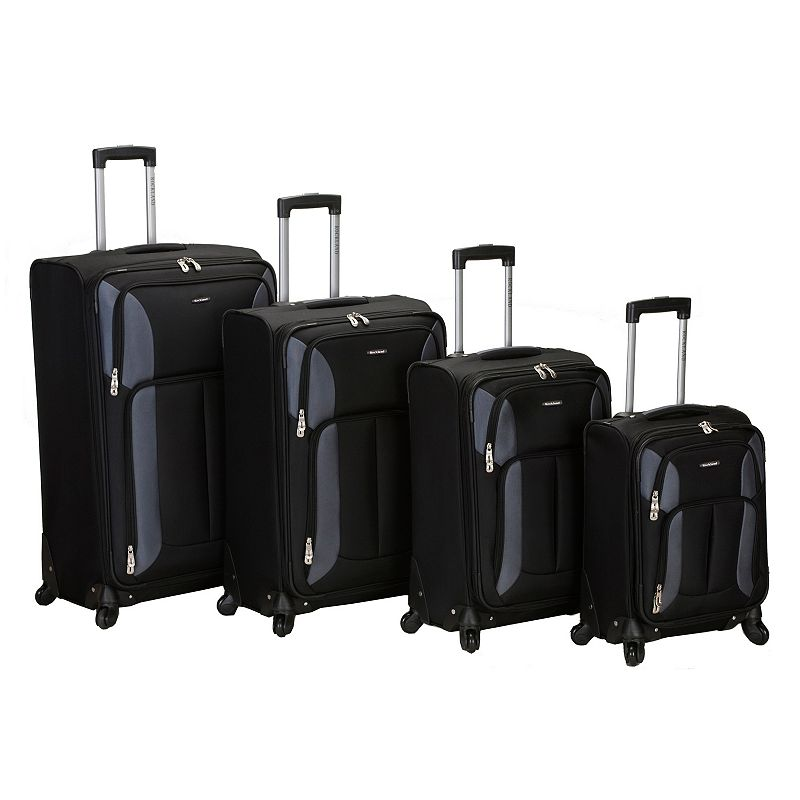 Rockland 4-Piece Spinner Luggage Set