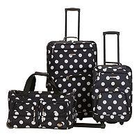 Rockland Luggage, 3-pc. Wheeled Luggage Set