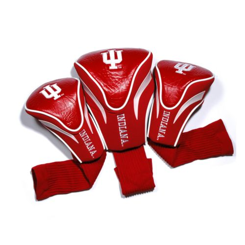 Team Golf Indiana Hoosiers 3-pc. Contour Head Cover Set