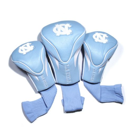 Team Golf North Carolina Tar Heels 3-pc. Contour Head Cover Set