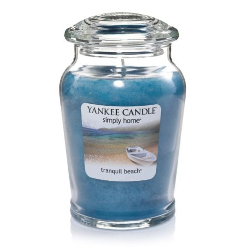 Yankee Candle simply home 19-oz. Tranquil Beach Jar Candle