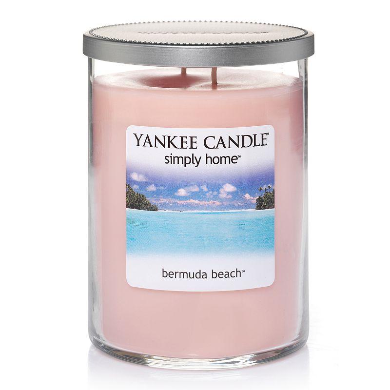 Yankee Candle simply home 19-oz. Bermuda Beach Tumbler Jar Candle