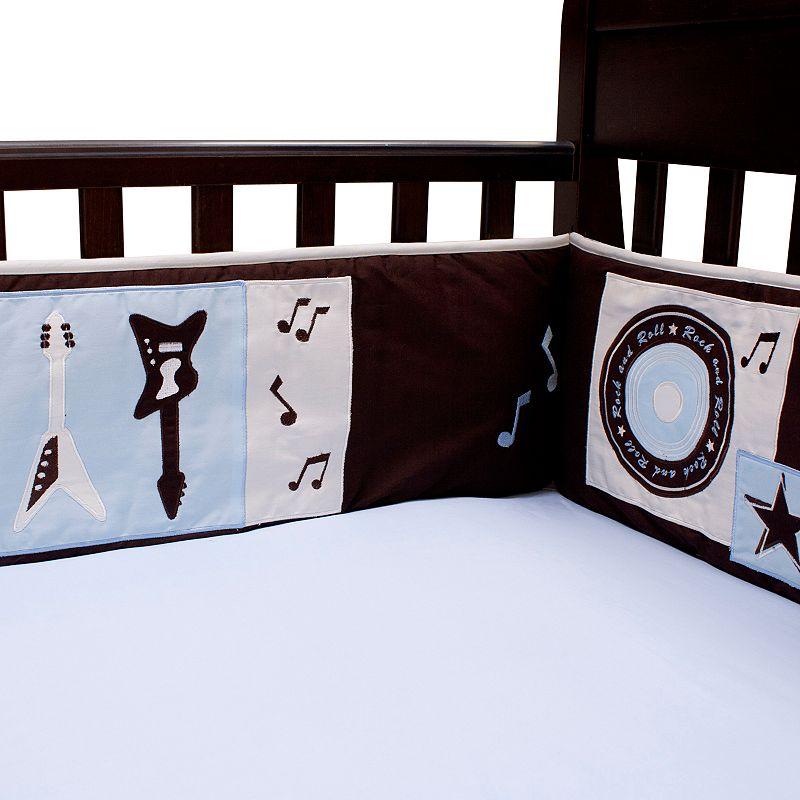Lambs ivy rock 39 n roll crib sheet dealtrend for Rock n roll baby crib set