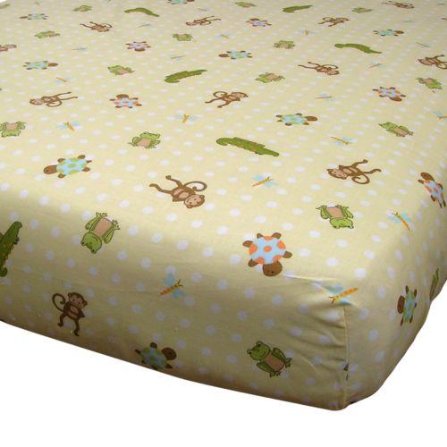 Lambs and Ivy Papagayo Crib Sheet