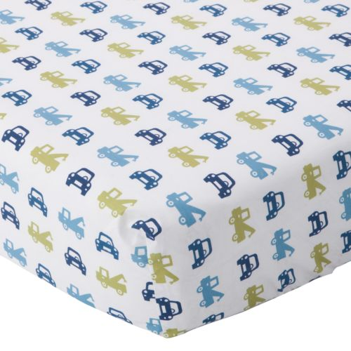 Lambs and Ivy Little Traveler Crib Sheet