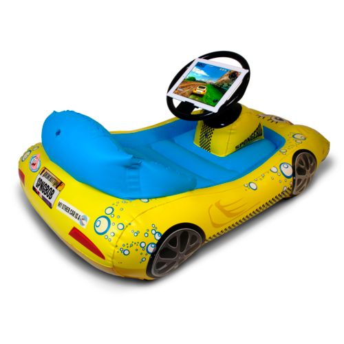 CTA Digital SpongeBob SquarePants Inflatable Sports Car for iPad