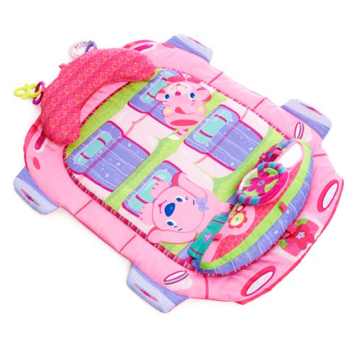 Bright Starts Pretty In Pink Tummy Cruiser Prop and Play Mat