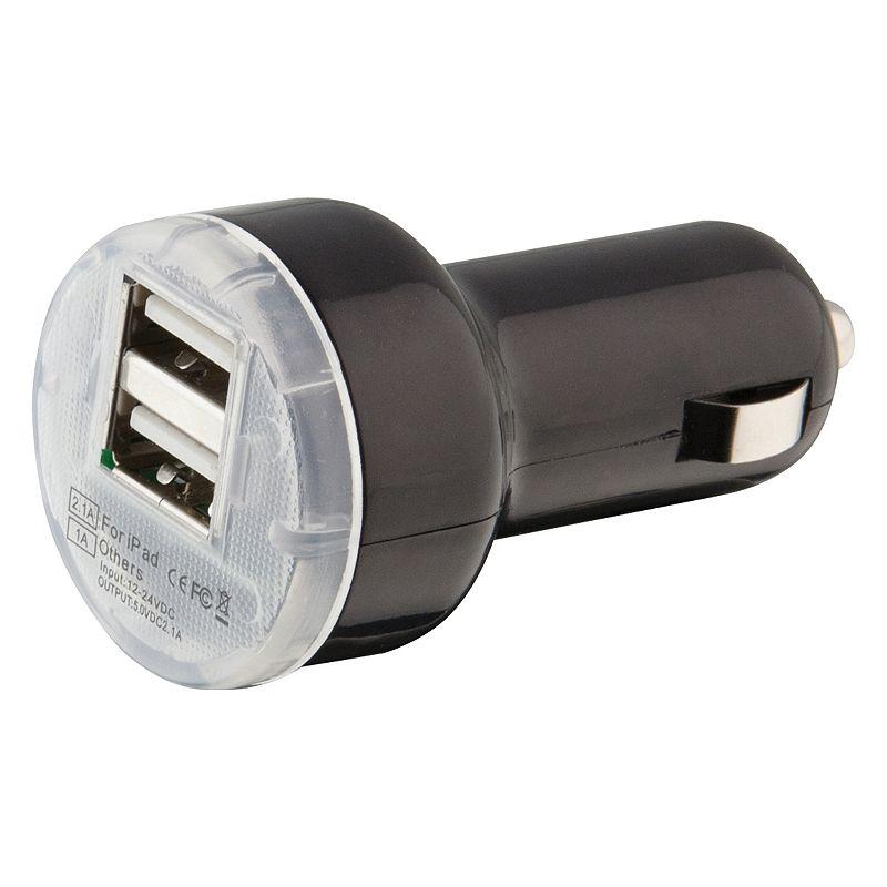 iLive iPod/iPhone/iPad Dual USB Car Charger